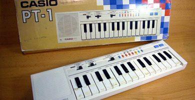 teclado musical casio pt-1