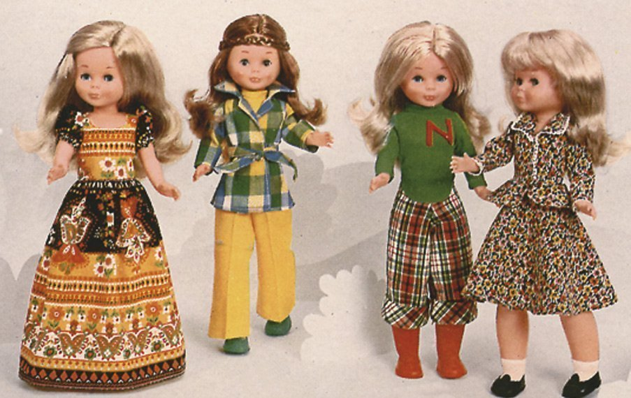 muñeca nancy antigua
