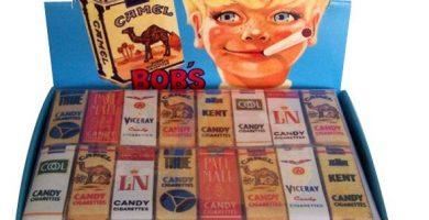 Cigarrillos chocolate