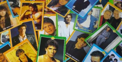 pegatinas famosos años 90