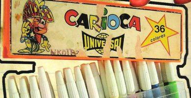 rotuladores carioca antiguos