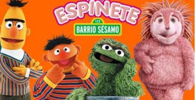 barrio sesamo programas infantiles de los 80