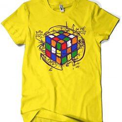 camiseta retro cubo rubik