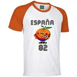 camiseta de naranjito años 80