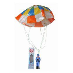 muñeco vintage paracaidista retro