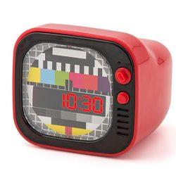 despertador diseño retro tv