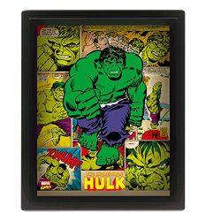 póster retro hulk