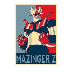 póster mazinger z