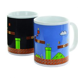 taza retro super mario bros