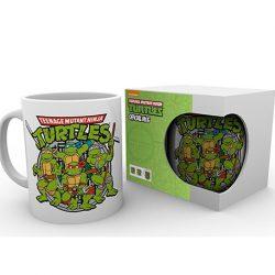 taza retro tortugas ninja