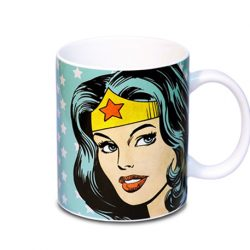 taza retro wonder woman