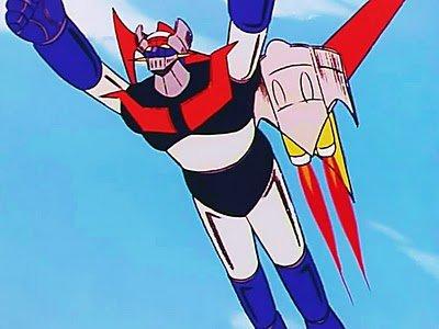 Fotograma de la serie televisión Mazinger Z